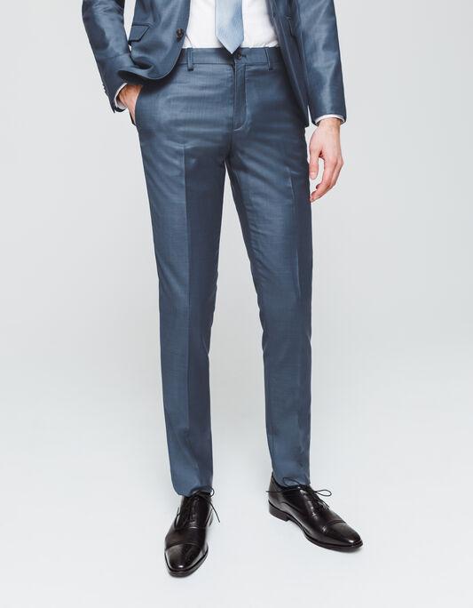Pantalon de costume coupe slim 100% Laine