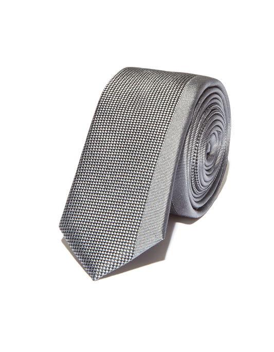 Cravate Slim Line Grise