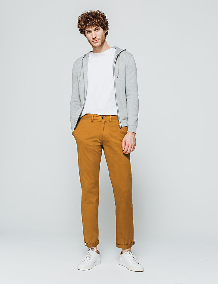 Pantalon chino homme regular
