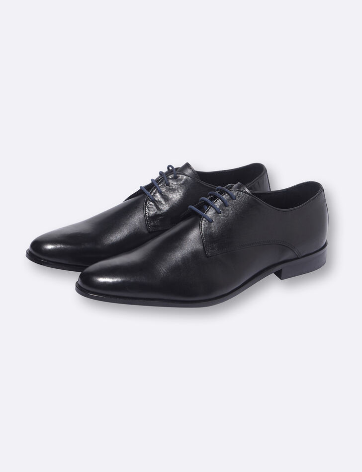 chaussures de costume homme derby cuir noires brice. Black Bedroom Furniture Sets. Home Design Ideas