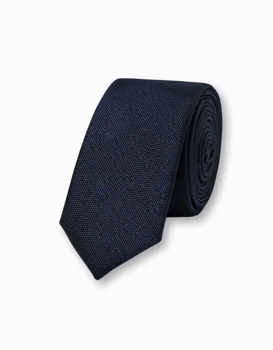 Cravate homme unie polyester