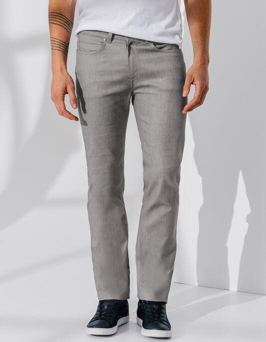 Jean regular gris