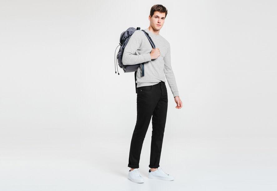 Pantalon 5 poches slim clean
