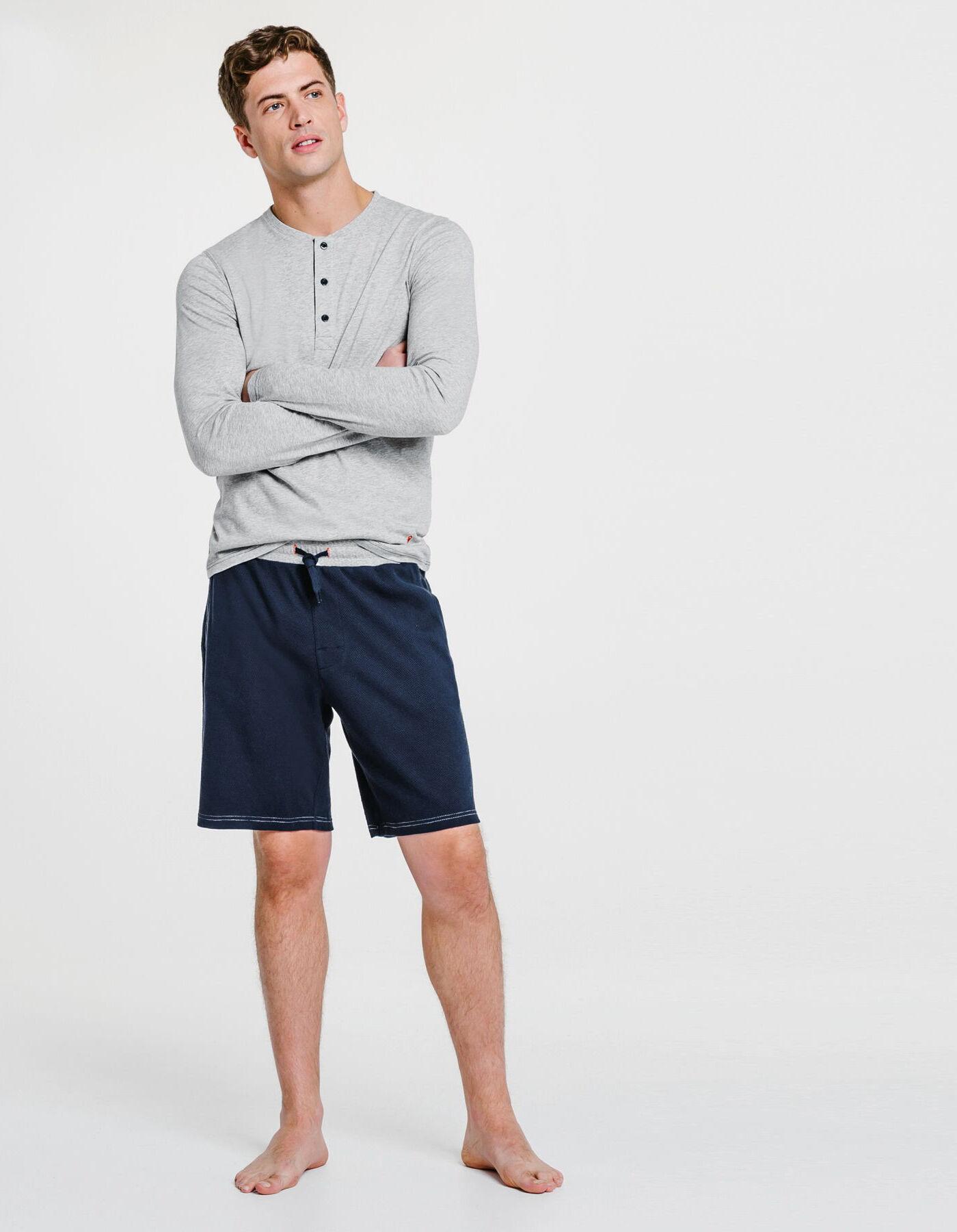 pyjashort bleu marine homme jules. Black Bedroom Furniture Sets. Home Design Ideas