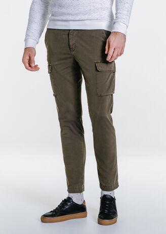 Pantalon slim battle