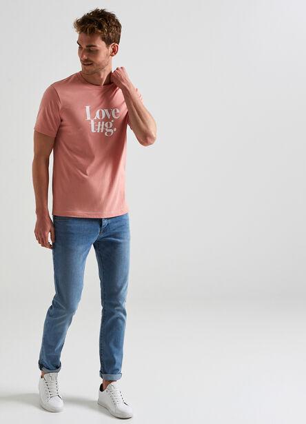 Tee shirt à message Love t#g