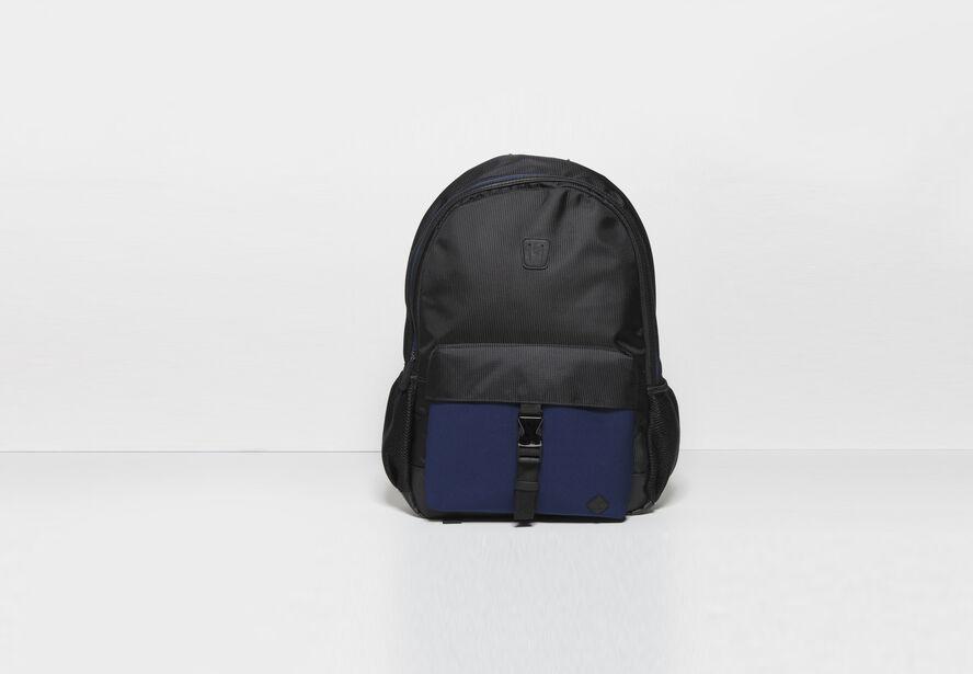 sac a dos foam nylon noir fantaisie homme jules. Black Bedroom Furniture Sets. Home Design Ideas