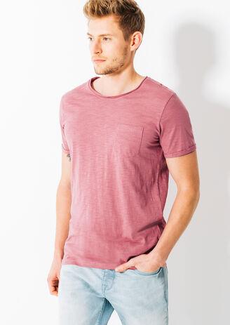 Tee shirt uni coton biologique