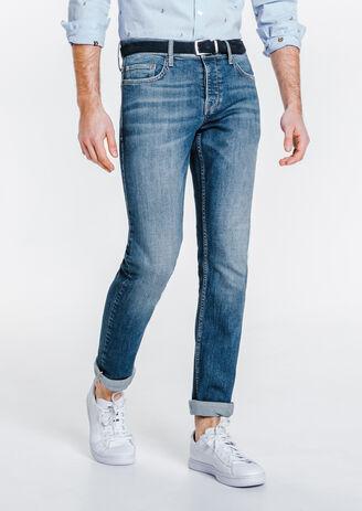 Jean straight bright blue