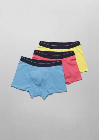 Lot de 3 boxer couleurs flashis