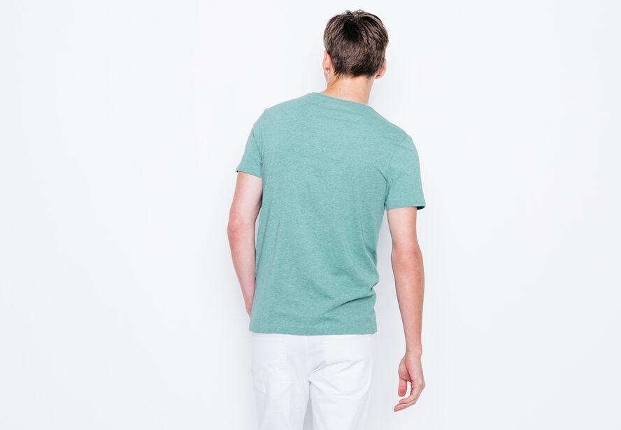 T-shirt col V Washington