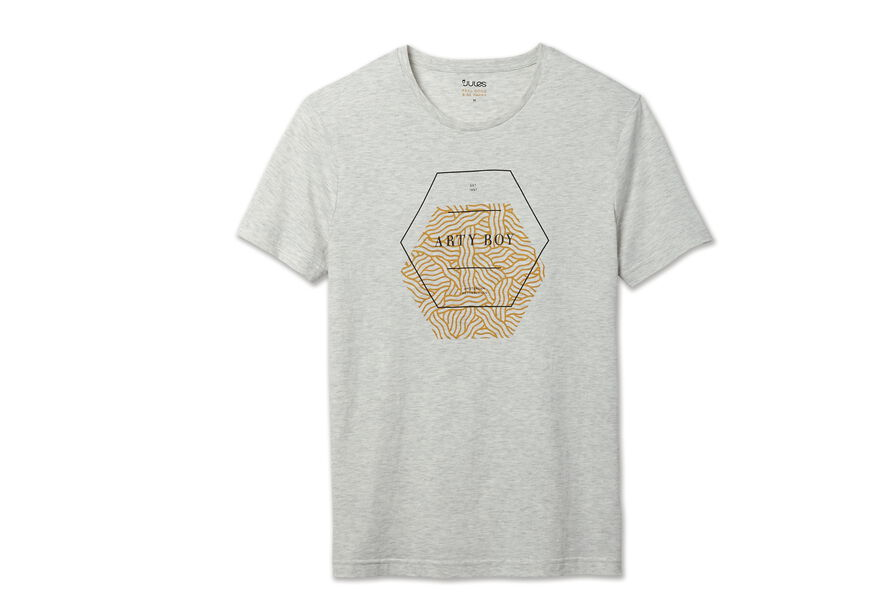 "Tee shirt col rond ""Artyboy"""