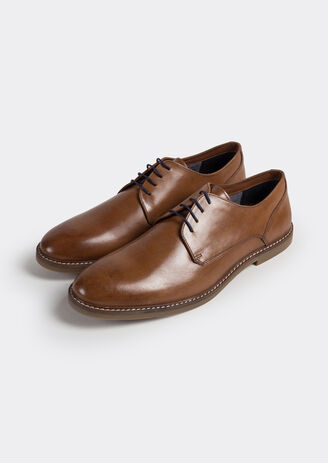 Chaussure urbaine derby cuir