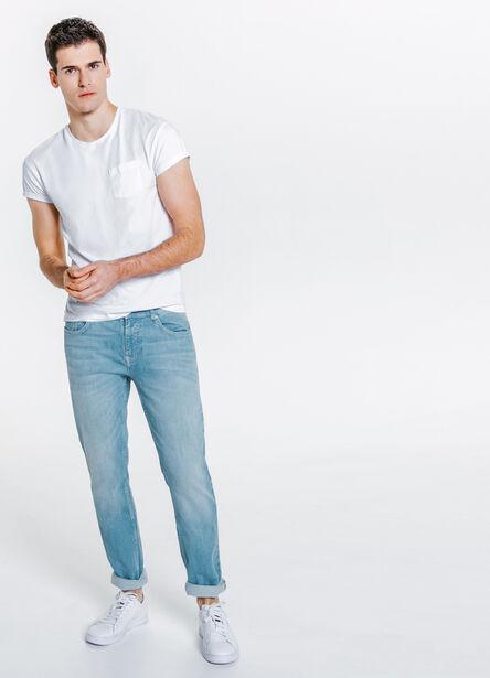 Jean straight bleu clair