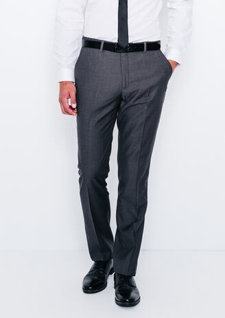 Pantalon de costume ajusté