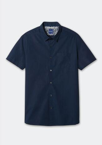 Chemise ajustée poche poitrine