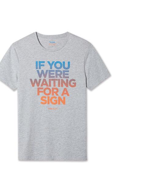 Tee shirt col rond If you