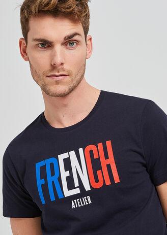 tee shirt message ATELIER FRANCAIS