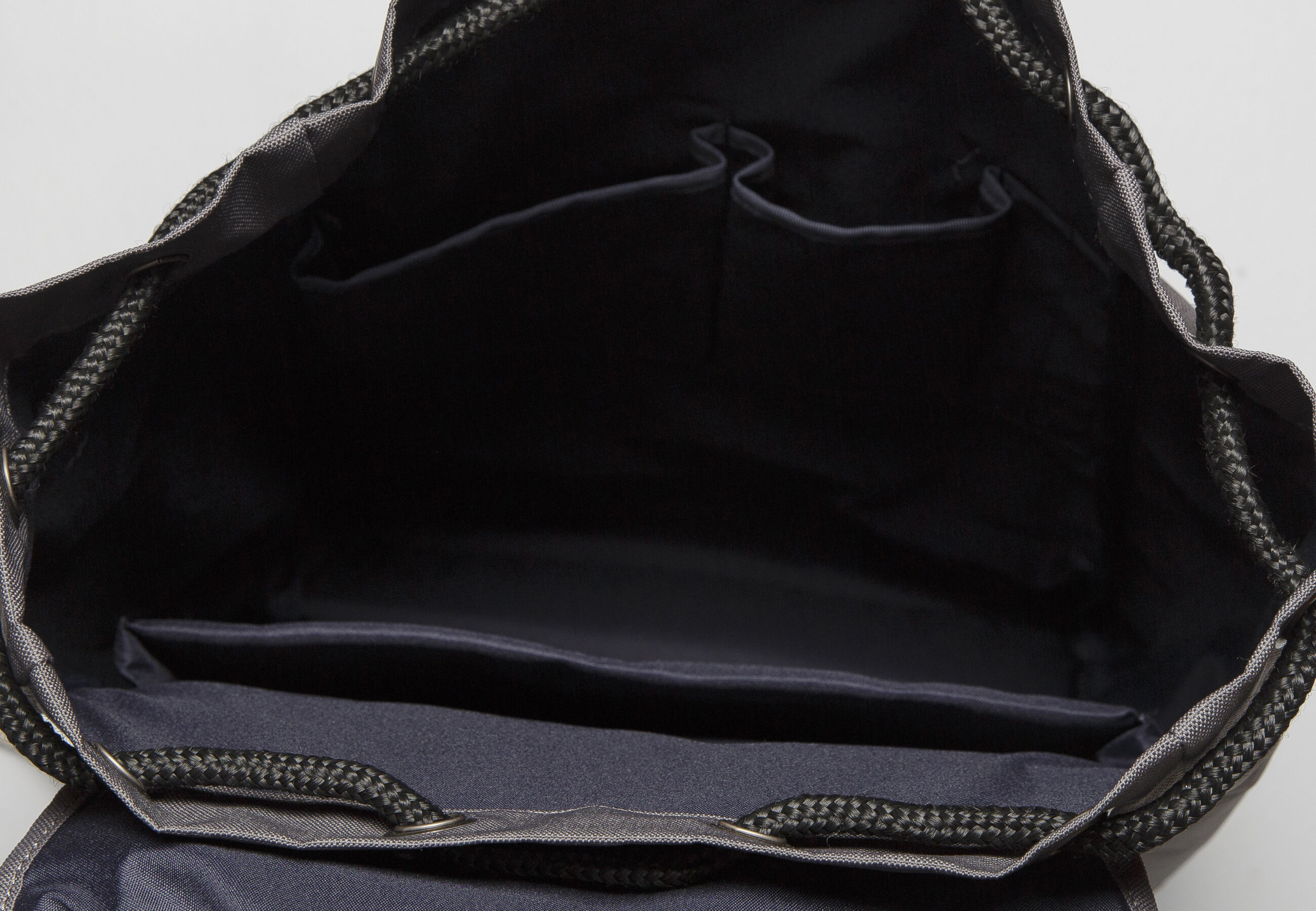 sac dos canvas et textile gris fantaisie homme jules. Black Bedroom Furniture Sets. Home Design Ideas