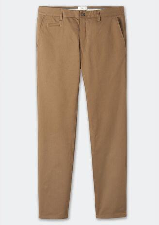 Pantalon chino straight coton bio
