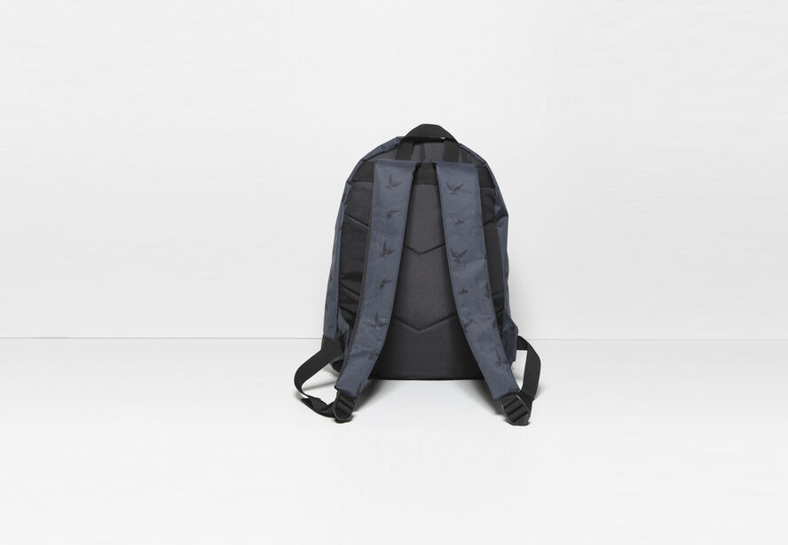 sac dos nylon imprim bleu fantaisie homme jules. Black Bedroom Furniture Sets. Home Design Ideas