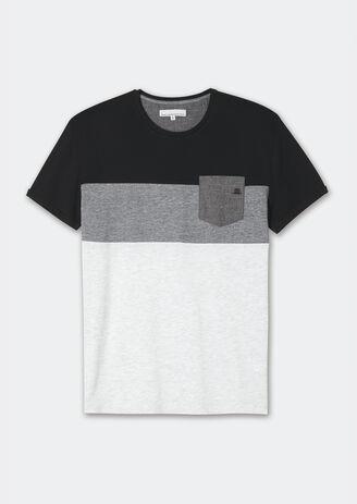Tee shirt block + poche