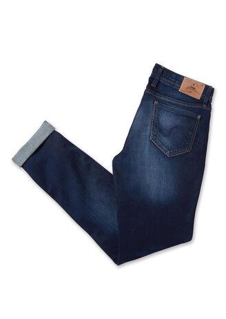 Jean slim brossé