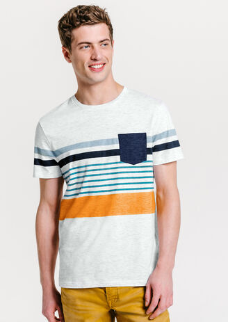 Tee shirt color block