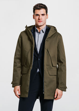 Parka 2 en 1 technique