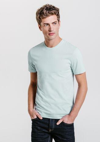 Tee shirt col rond en coton biologique