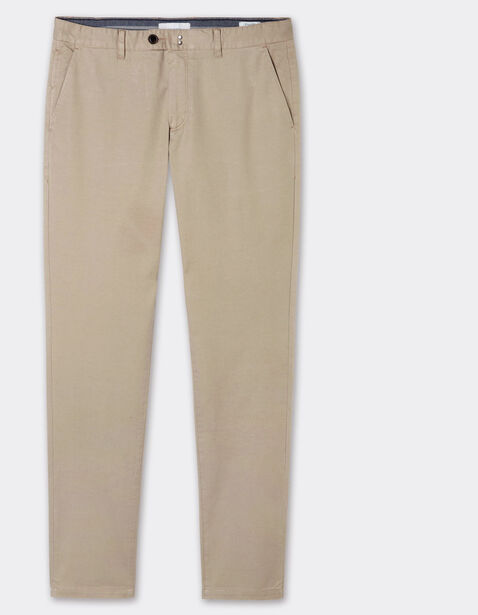 Chino STR matière garment dyed avec ceinture