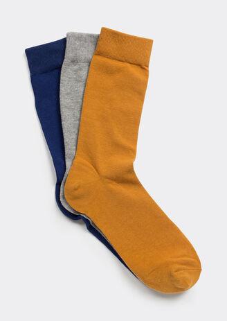 lot de 3 Chaussettes hautes couleurs