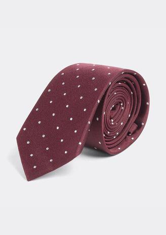 Cravate à Pois en Soie