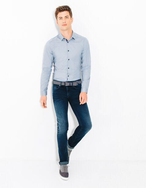 chemise extra slim unie bleu grise homme jules. Black Bedroom Furniture Sets. Home Design Ideas