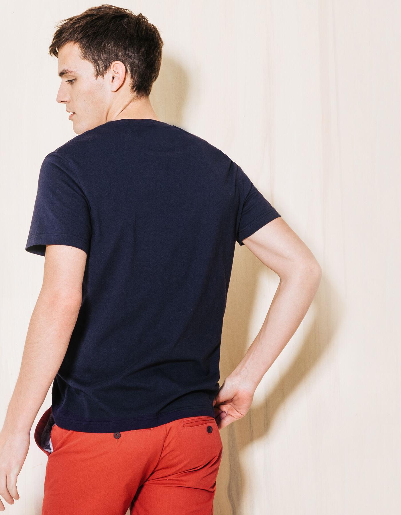 t shirt made in france bleu marine homme jules. Black Bedroom Furniture Sets. Home Design Ideas