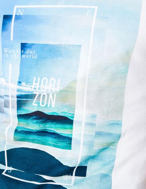 """Tee shirt imprimé """"Horizon"""""""