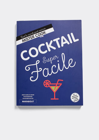 Collab JULES & MARABOUT: Livre COCKTAIL SUPER FACI