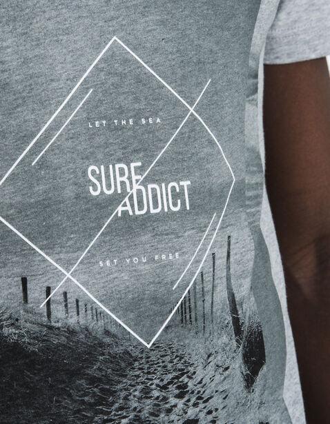 Tee shirt imprimé surf addict