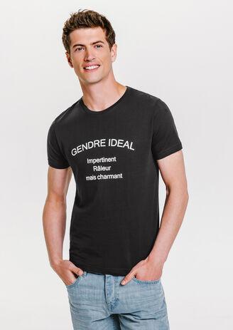 Tee shirt imprimé gendre idéal