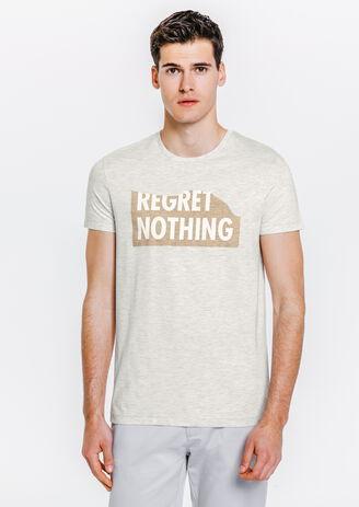 Tee shirt REGRET NOTHING