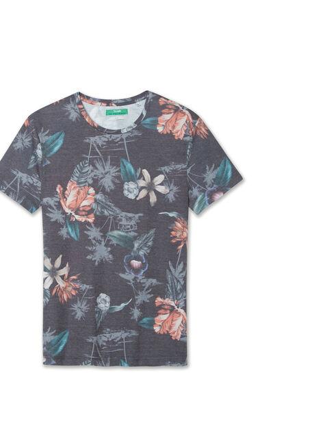 Tee shirt imprimé fleurs