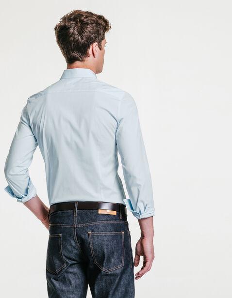 chemise extra slim unie bleu ciel homme jules. Black Bedroom Furniture Sets. Home Design Ideas