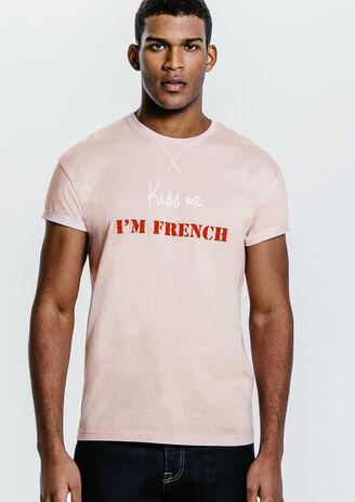 Tee shirt mixte Kiss Me I'm French