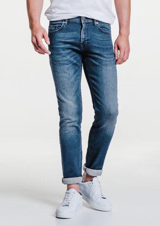 Jogg jean slim bleu moyen