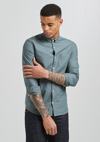 Camicia Oxford Slim