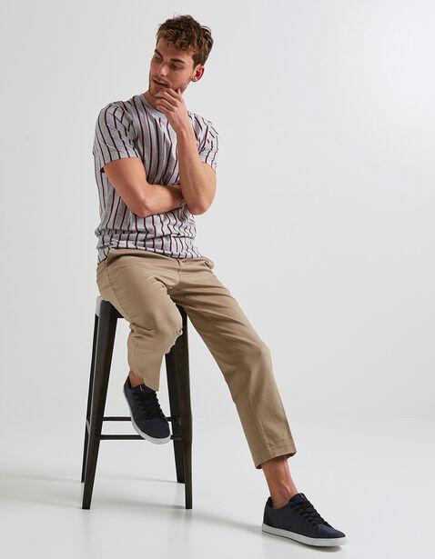 Tee shirt rayures verticales