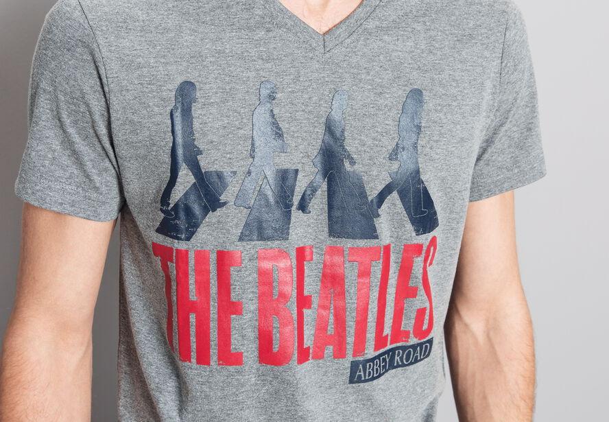T-shirt imprimé licence THE BEATLES