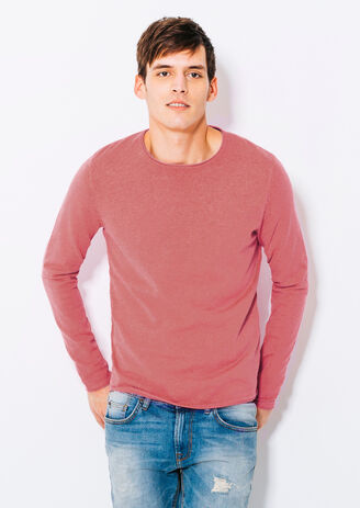 Pull col roulotté