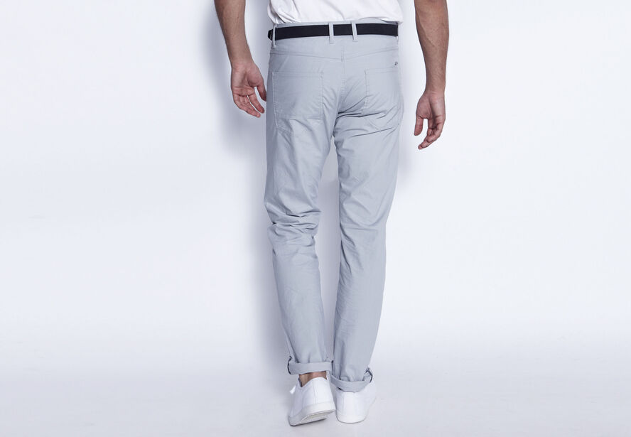 Pantalon 5 poches straight