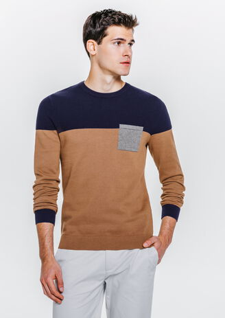 Pull esprit colorblock